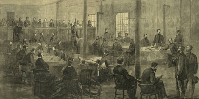 trial of conspirators